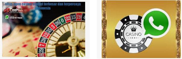 Layanan whatsapp di agen judi online resmi Sbobet casino